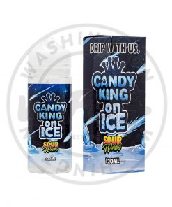Candy King on ice Sour Worms 120ml (Shortfill)