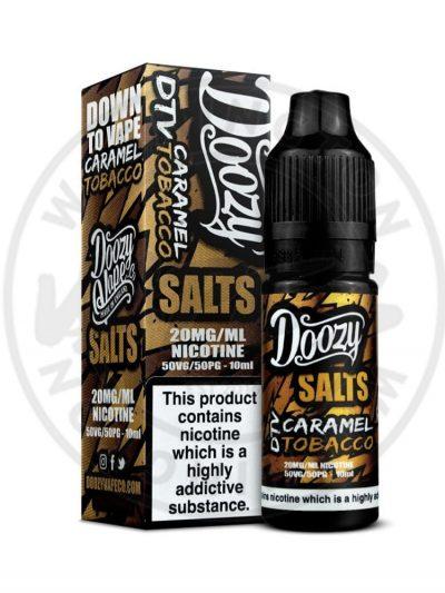 Doozy Salts Caramel Tobacco 10ml 20mg