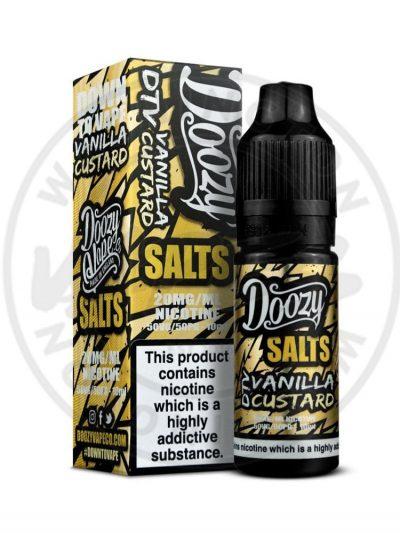 Doozy Salts Vanilla Custard 10ml 20mg