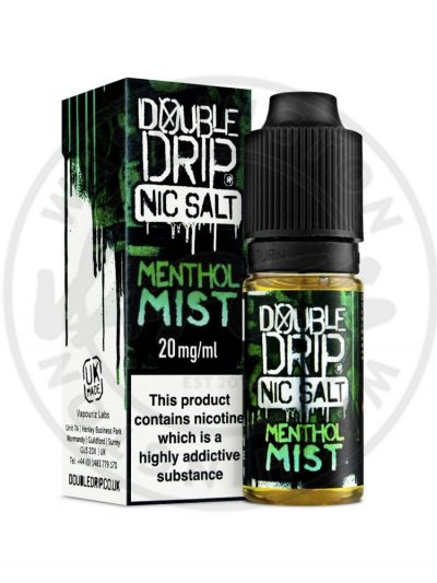 Double Drip Menthol Mist Nic Salt 10ml