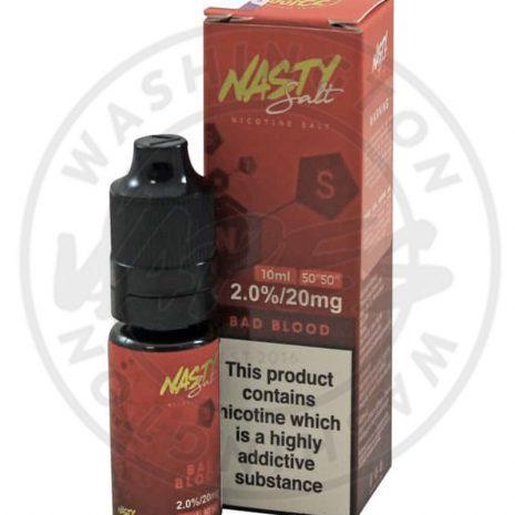 Nasty Juice Nic Salt 10ml - Bad Blood
