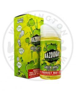 Bazooka Apple Sour Straws 100ml