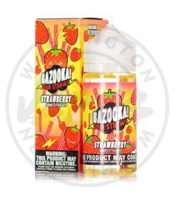Bazooka Strawberry Sour Straws 100ml