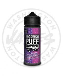 Moreish Puff Candy Drops Grape & Strawberry 100ml