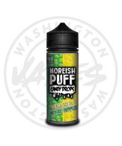 Moreish Puff Candy Drops Lemon & Sour Apple 100ml