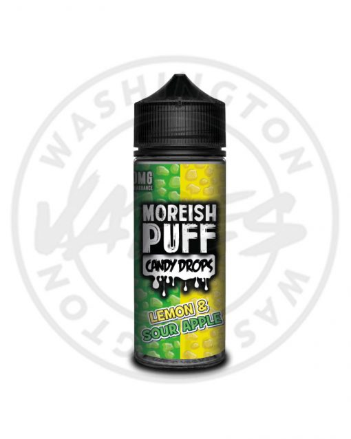Moreish Puff Candy Drops Lemon & Sour Apple 100ml
