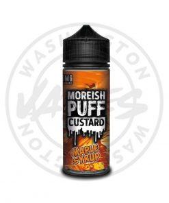 Moreish Puff Custard Maple Syrup 100ml