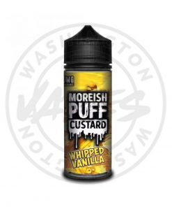 Moreish Puff Custard Whipped Vanilla 100ml
