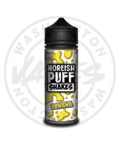 Moreish Puff Shakes Banana 100ml