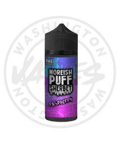 Moreish Puff Sherbet Raspberry 100ml