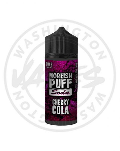 Moreish Puff Soda Cherry Cola 100ml