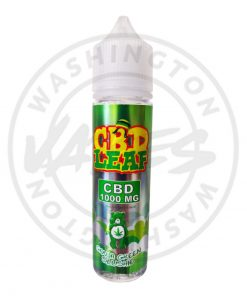 CBD Leaf 1000mg Ganja Green Slushie 50ml