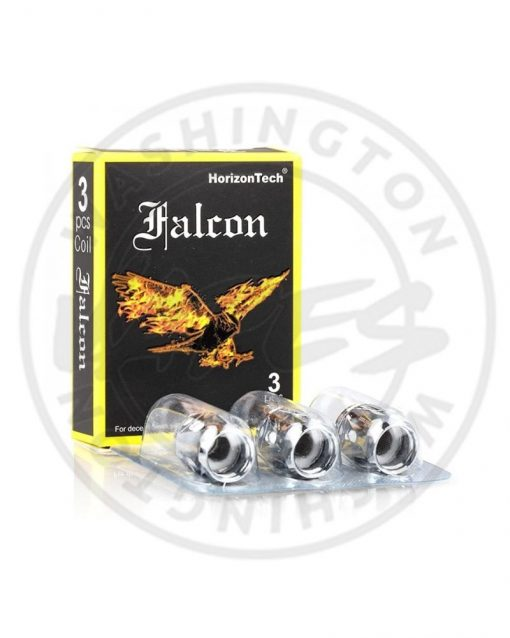 Horizontech Falcon F1 Replacement Flax Fiber Coils 0.2 Ohms (pack of 3)
