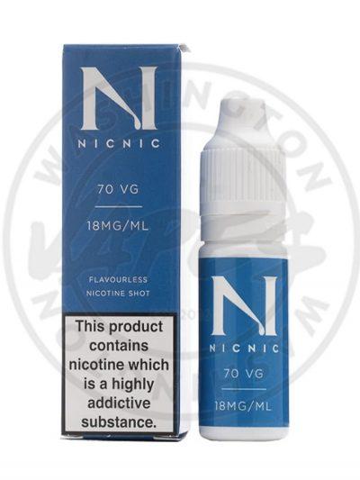 Nic Nic 18MG Nicotine Shot 10ml 70vg