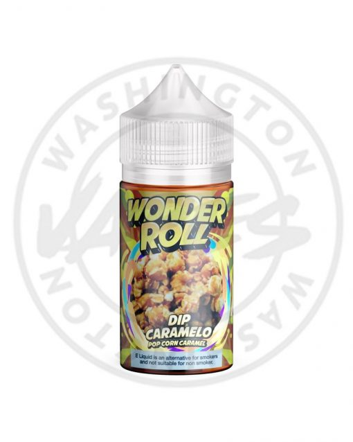 Wonder Roll Dip Caramelo Pop Corn Caramel 100ml