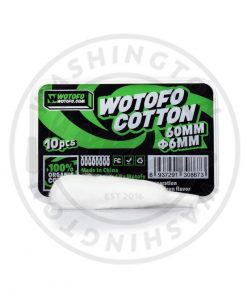 Wotofo Profilke RDA 6MM Agleted Cotton (Pack of 10)