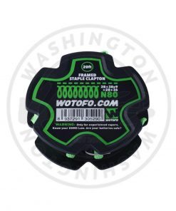 Wotofo Wire Reel. 20ft Spool Framed Staple Clapton (28+39x9+28+36)