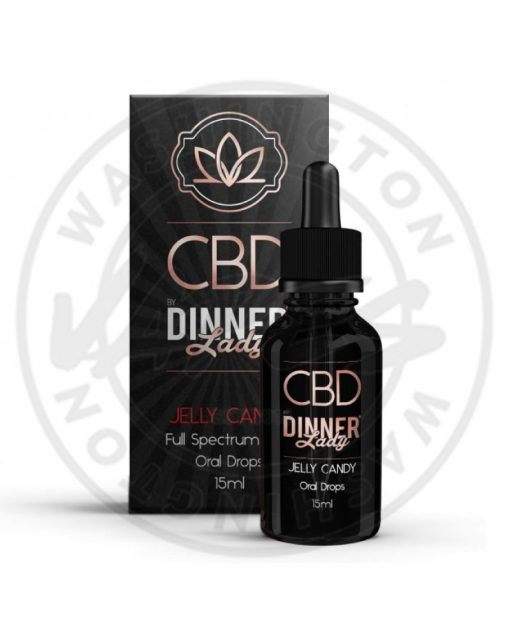 CBD Dinner Lady Oral Drops Jelly Candy 15ML