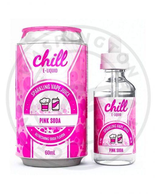 Chill E-Liquid Pink Soda 50ml