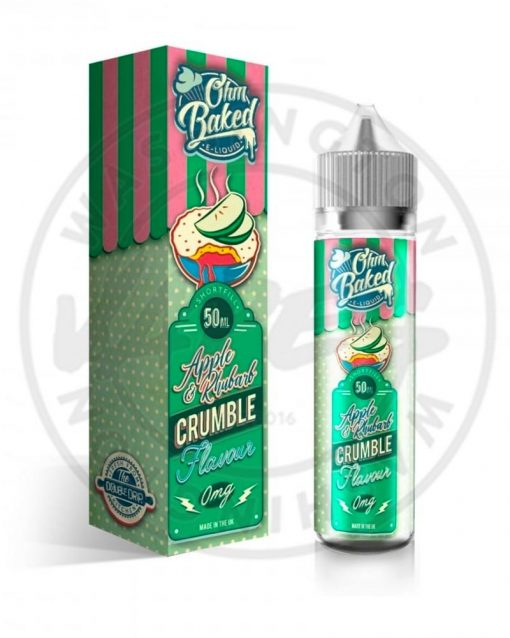 Ohm Baked Apple and Rhubarb Crumble 50ml