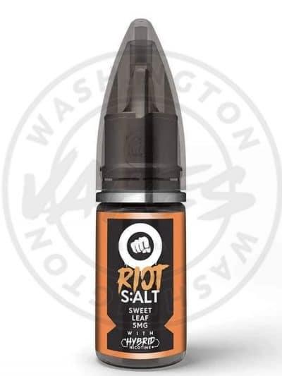 Riot Salts 10ml - Sweet Leaf