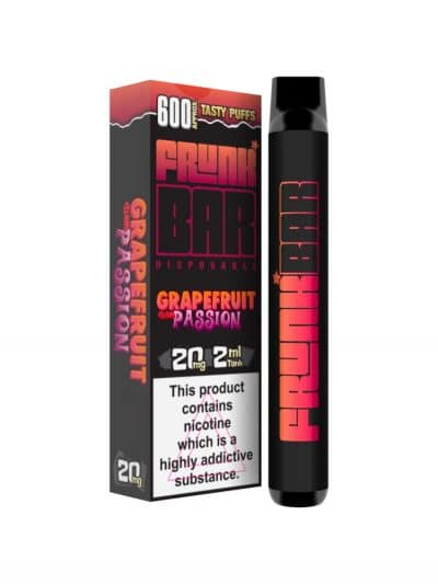 Grapefruit with Passion Disposable Device By Frunk Bar