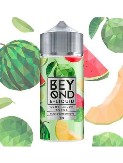 Beyond E-Liquid Sour Melon Surge 100ml Shortfill