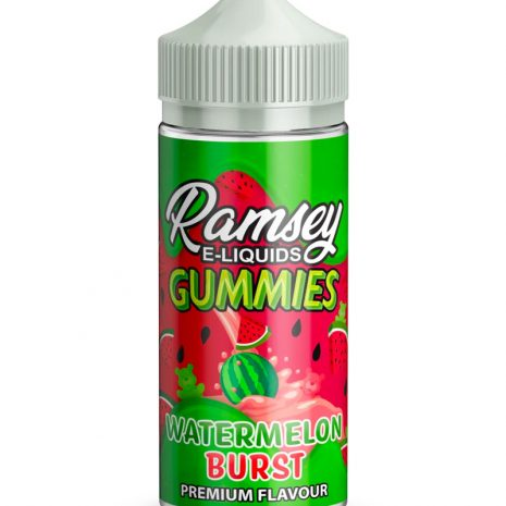 Ramsey E-Liquids - Gummies Watermelon Burst 100ml